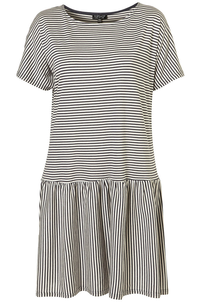 Topshop Stripe Drop Waist Dress ($58)
