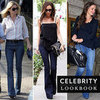 Celebrities Flare Jeans 2012