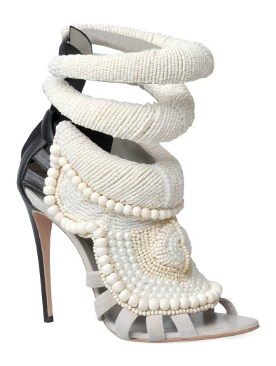 Kanye West By Giuseppe Zanotti All Over Beads Sandals ($5,810)