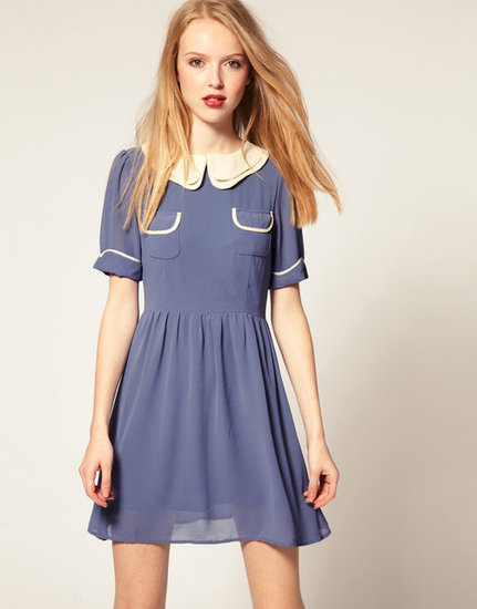 Dahlia Double Collar Dress ($79)