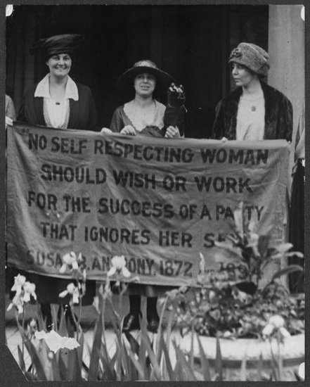Women&#039;s Suffrage in US, 1920
