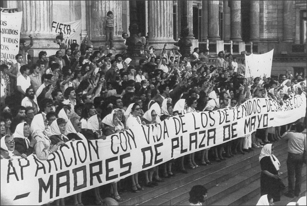 Mothers of the Plaza de Mayo in Argentina, 1982