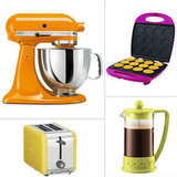 Happy, Rainbow-Hued Kitchen Appliances For Spring