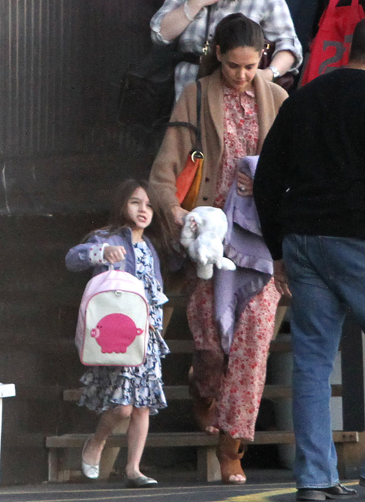 Katie and Suri Take to the Friendly Skies