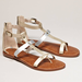 A pair of comfy sandals should be on the top of your list. Make sure they're slightly cushioned for maximum comfort.