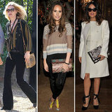 Kate Moss, Salma Hayek, Louise Roe With Snakeskin Bags Trend