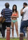 Selena Gomez took direction between scenes.