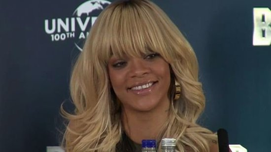 "Video: Rihanna Addresses the Ashton Relationship Rumors — ""I'm Happy and I'm Single"""