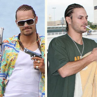 James Franco on the Set of Spring Breakers Video