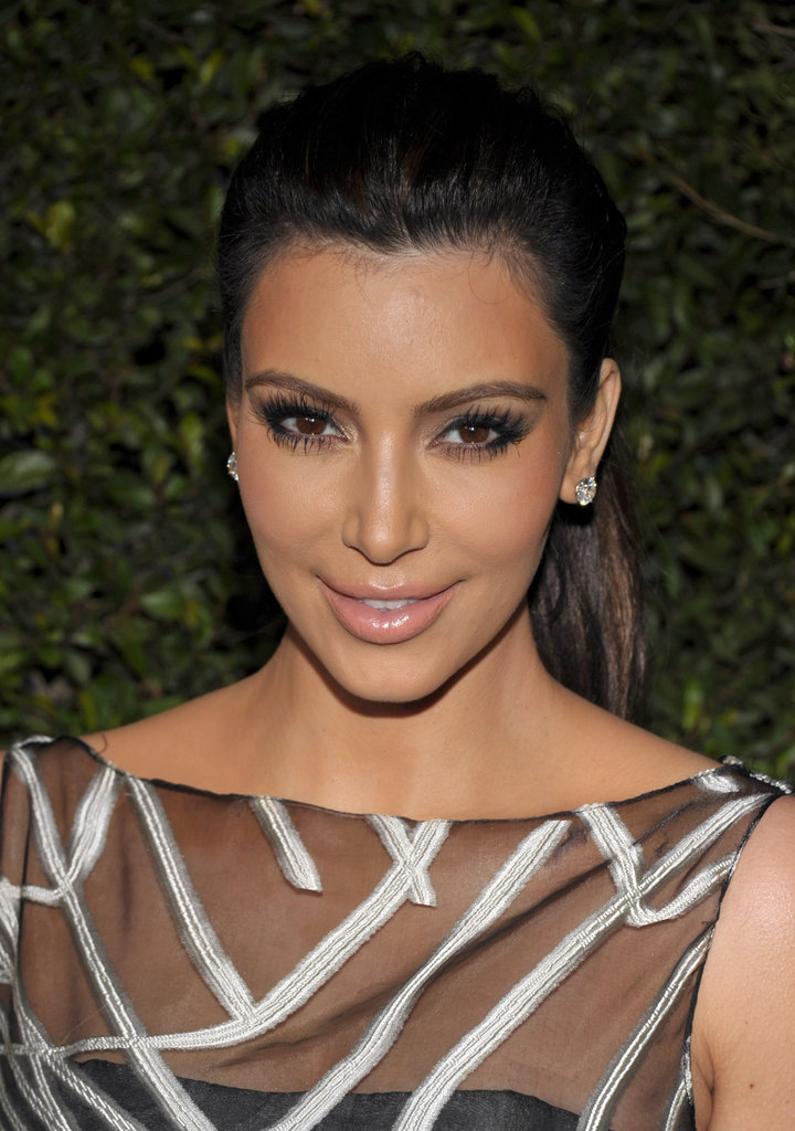 Kim Kardashian at Valentino's 50th anniversary party in LA.