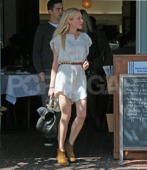 Diane Kruger went to lunch with a guy friend.