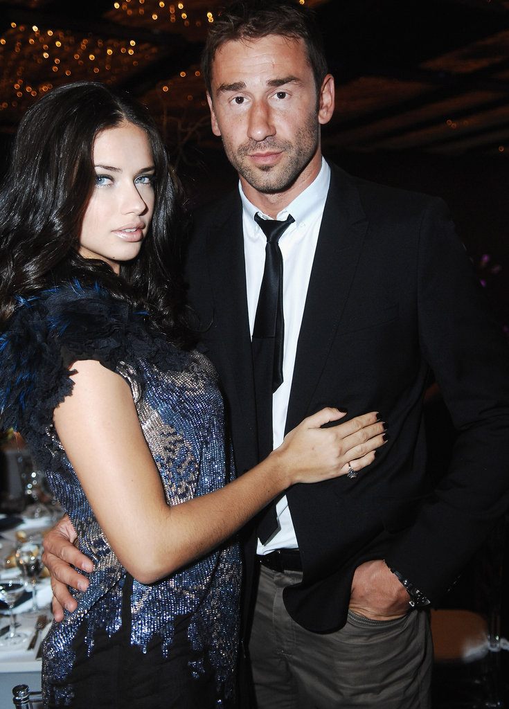Adriana Lima with husband Marko Jaric.