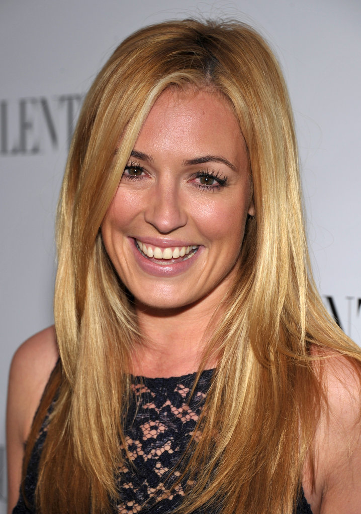 Cat Deely attended the celebrations for Valentino's 50th anniversary in LA.