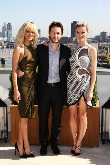 Rihanna, Brooklyn Decker, and Taylor Kitsch Take Battleship to London