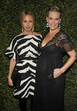 Rachel Zoe and Molly Sims got together at Valentino's 50th anniversary in LA.