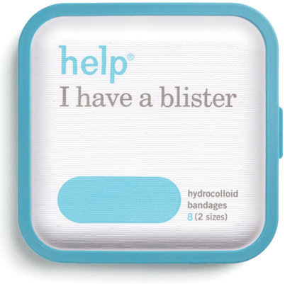 Sometimes, even the comfiest pair of shoes can't save you from blisters. These cool blister bandages come with hydrocolloid to help your healing process go faster.  Help I Have a Blister Bandages ($4)