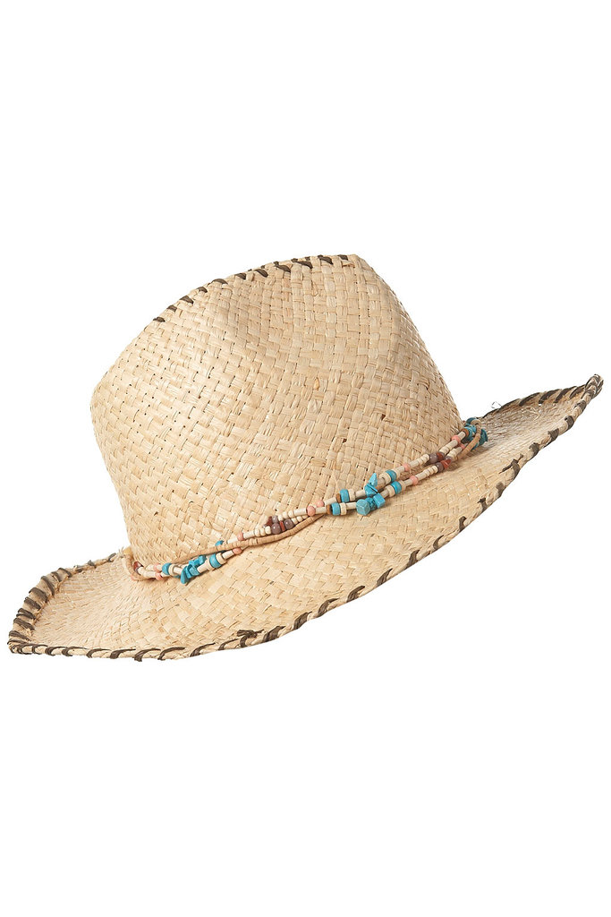 Stay protected from sunburn and heat exhaustion in this Western-inspired straw hat. Stitched Stetson Hat ($50)