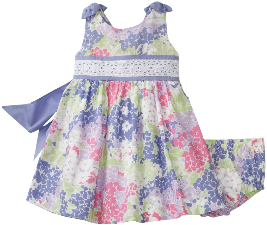Hartstrings Baby-Girls Infant Multifloral Printed Poplin Dress ($54)
