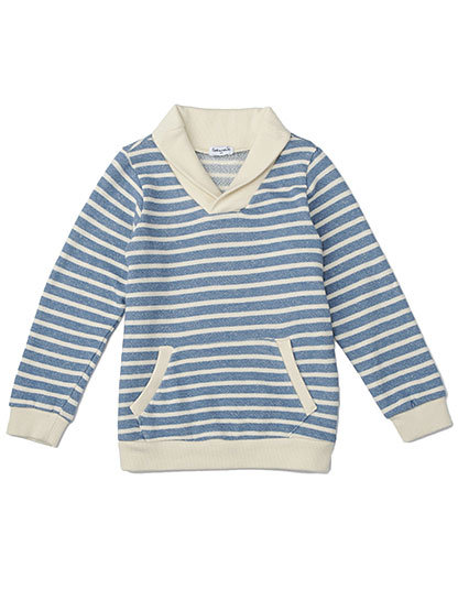Splendid Sahara Stripe Active Cowl-Neck Pullover ($70)