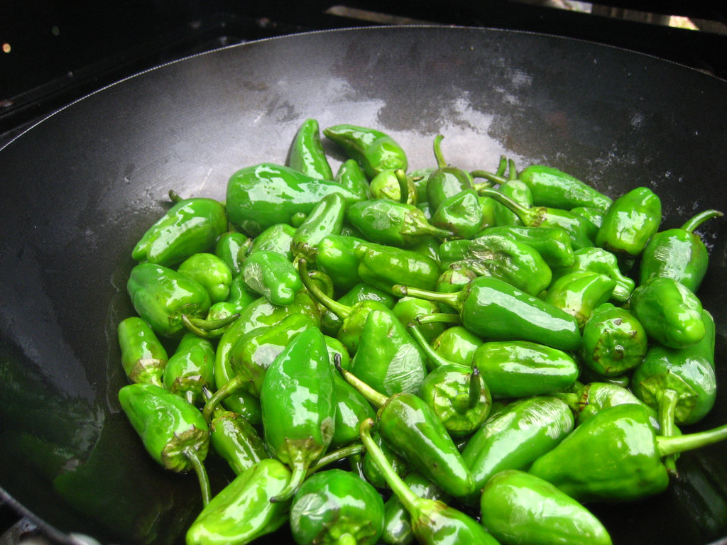 Spain: Padrón Peppers