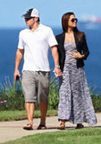 Nick Lachey and Vanessa Minnillo visited Australia.