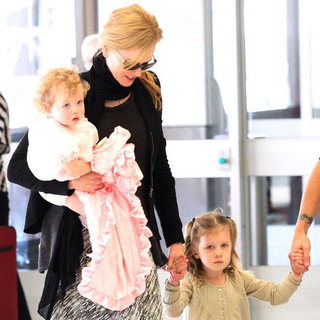 Nicole Kidman Pictures With Daughters Faith and Sunday
