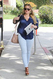 New Mom Hilary Duff Steps Out For the First Time Since Luca's Birth