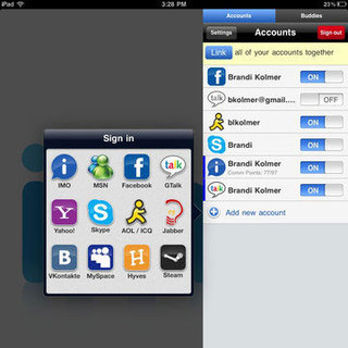 IM Chat Apps For iPad