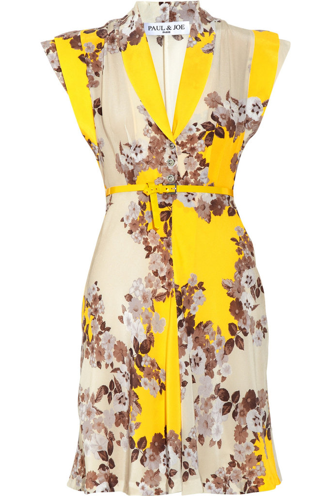 The Every-Occasion Cocktail Dress For afterwork drinks or a Summer wedding, this funky floral print and cinched silhouette will instantly add flirty glam. Paul & Joe Flaucour Printed Silk Dress ($358, originally $795)