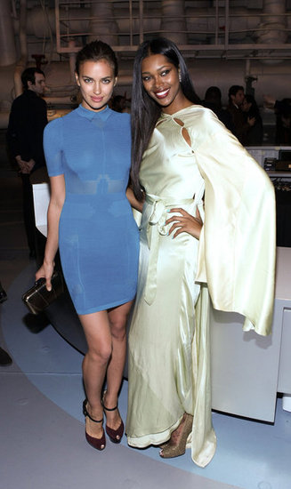 Irina Shayk and Jessica White