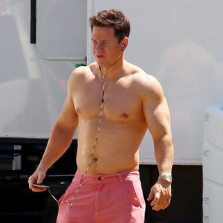 Shirtless Mark Wahlberg in Miami Pictures