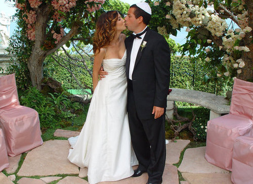 Adam Sandler and Jackie Titone made it official in Malibu in June 2003.