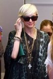 Ashlee Simpson shopped in Sydney.