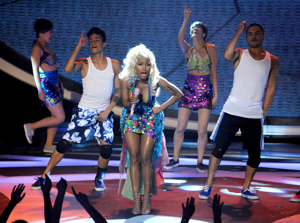 Nicki Minaj performed at Americ