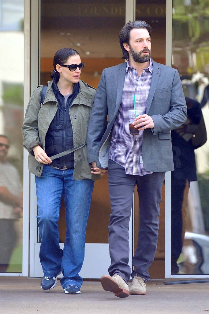 Jennifer Garner and Ben Affleck were hand in hand in LA.