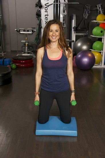 Jennifer Cohen  Shoulder Raise With Body Bend