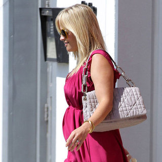 Pregnant Reese Witherspoon Leaving Church on Easter Pictures
