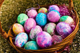 Dyed Hard-Boiled Eggs