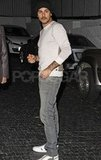 Eduardo Cruz was spotted leaving the Chateau Marmont with Eva Longoria.