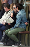 Emily VanCamp and Joshua Bowman showed PDA in LA.