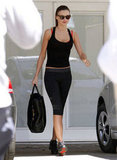 Miranda Kerr went to a gym in LA.