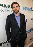 Jake Gyllenhaal showed off his scruff in NYC at an event for Paul Newman's foundation.