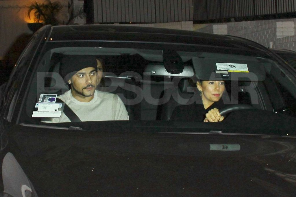 Eva Longoria and Eduardo Cruz were seen leaving the Chateau Marmont together.