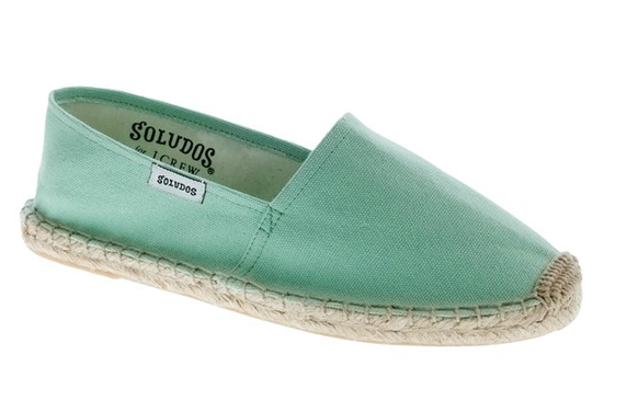 Soludos For J.Crew Dali Espadrilles in Bright Spearmint ($35)