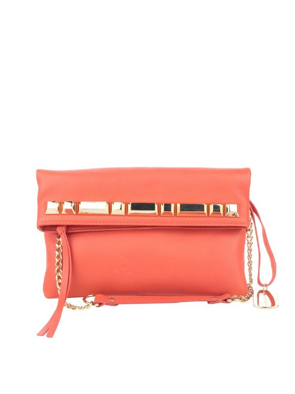 This grapefruit-colored clutch is your best bet for a Spring fête.  Vince Camuto Jasmine Clutch ($148)