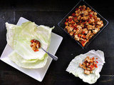 Tofu Cabbage Cups