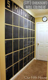 Chalkboard Wall Calendar