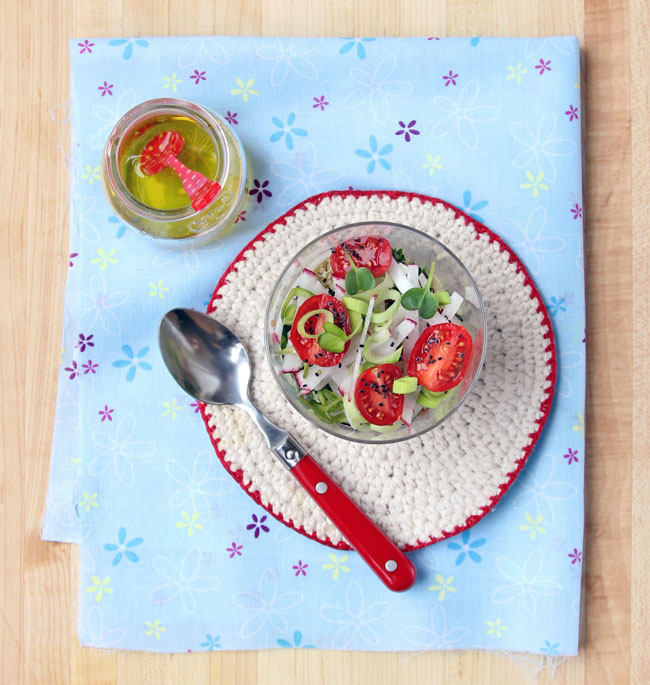 Quinoa Radish Salad