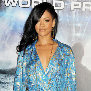 Rihanna at Battleship Premiere Talking Whitney Houston