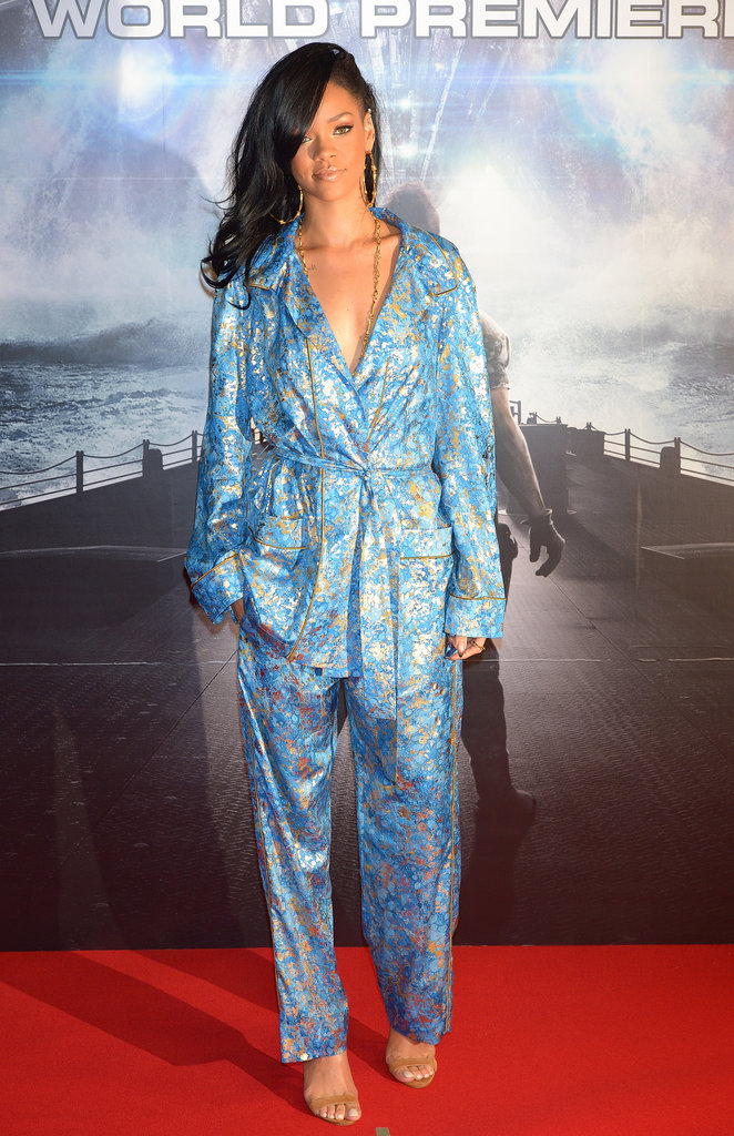 Rihanna hit the red carpet in Pucci.